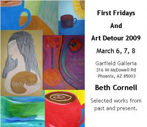 Beth Cornell At First Fridays And Art Detour 2009